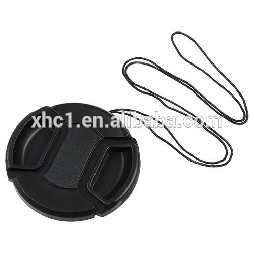 Wholesale 62mm Center Pinch Camera Lens Cap Fabrication Les fabricants, fournisseurs, exportateurs, grossistes