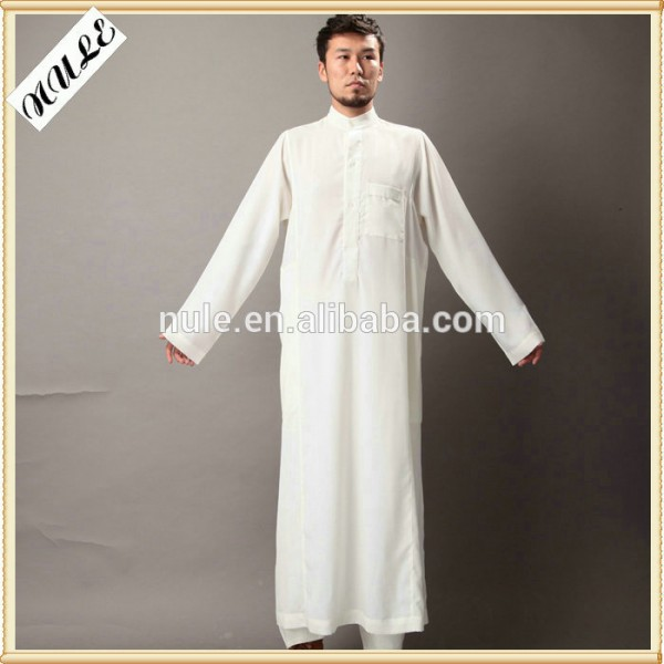 Vêtements musulmans/musulman arabe hommes, respirant. robes, blanc froid Fabrication Les fabricants, fournisseurs, exportateurs, grossistes