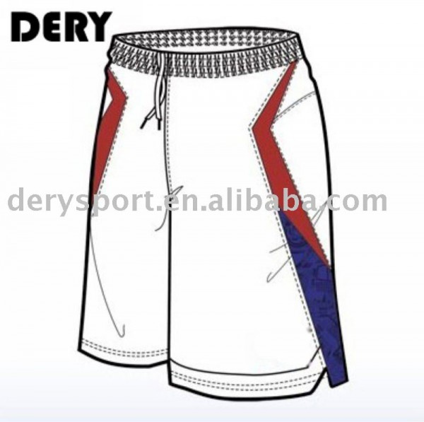 Conception de shorts de basket-ball Fabrication Les fabricants, fournisseurs, exportateurs, grossistes