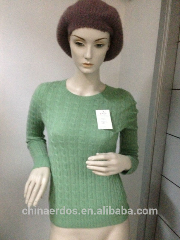 Women's cable cashmere sweater Fabrication Les fabricants, fournisseurs, exportateurs, grossistes