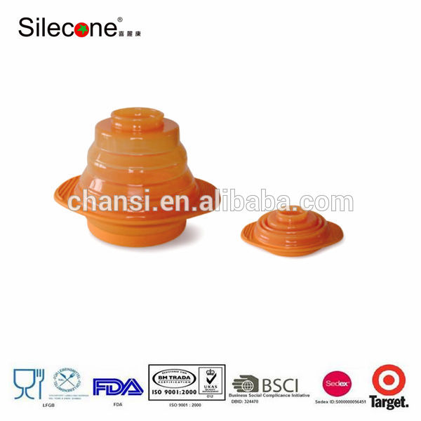 1000ml fdadelivey& l'approbation lfgb silicone vapeur pliable Fabrication Les fabricants, fournisseurs, exportateurs, grossistes