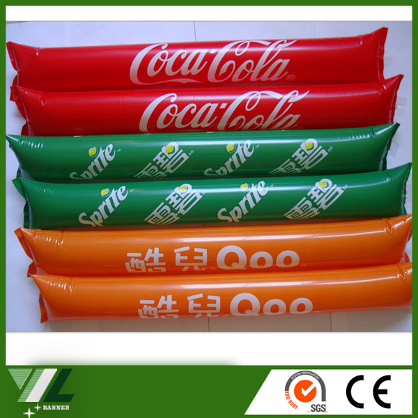 Promotional plastic cheering stick Fabrication Les fabricants, fournisseurs, exportateurs, grossistes
