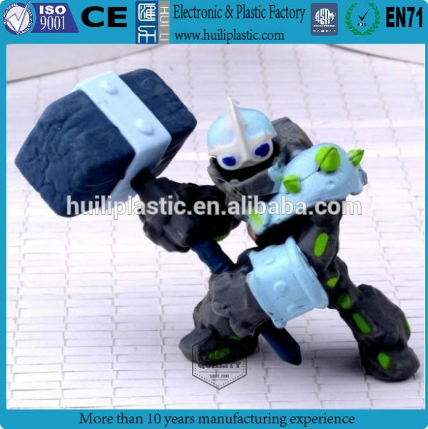thunder 3d plastic pvc figure/shenzhen pvc plastic figure/custom plastic toy figure for promotion Fabrication Les fabricants, fournisseurs, exportateurs, grossistes