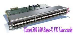 Catalyseur Cisco de Cisco WS-X4124-FX-MT 4500 100 linecards de Fe de Base-x Fabrication Les fabricants, fournisseurs, exportateurs, grossistes