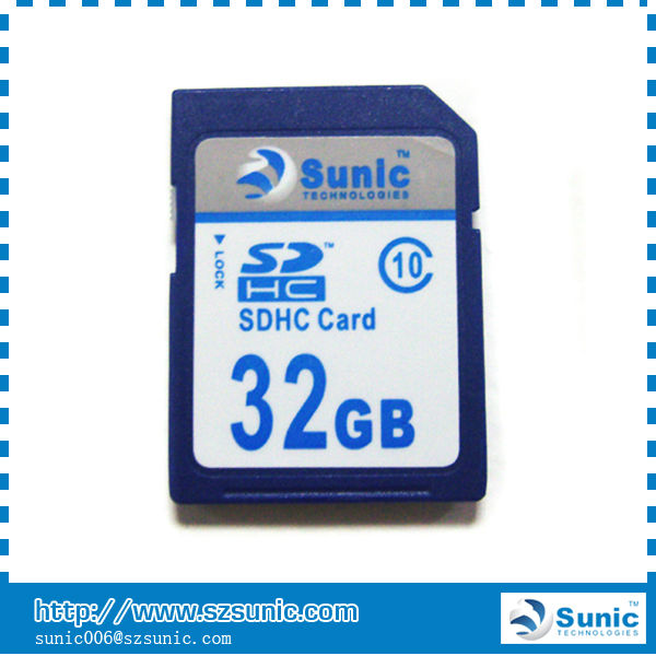 Carte sdhc 32 go., 32gb classe 10 carte sdhc Fabrication Les fabricants, fournisseurs, exportateurs, grossistes