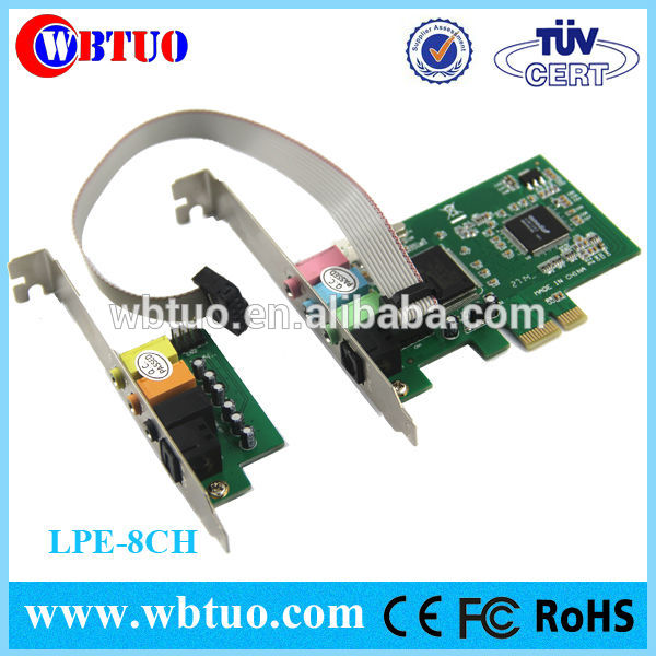 Oem odm 7.1 cmi 8768 8 canaux pci sound card Fabrication Les fabricants, fournisseurs, exportateurs, grossistes
