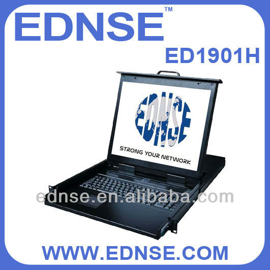 Rack kvm ed1901h servers19''lcd ednse Fabrication Les fabricants, fournisseurs, exportateurs, grossistes