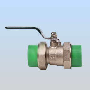Din hot cold water pn2.5mpa s2.5 ppr ppr raccord union double ball valve Fabrication Les fabricants, fournisseurs, exportateurs, grossistes