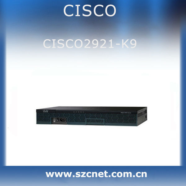 Cisco 2900 integrated services routers series cisco2921/k9 Fabrication Les fabricants, fournisseurs, exportateurs, grossistes