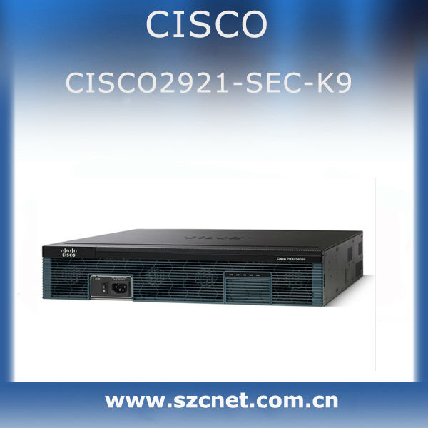 Cisco 2900 integrated services routers series cisco2921-sec/k9 Fabrication Les fabricants, fournisseurs, exportateurs, grossistes