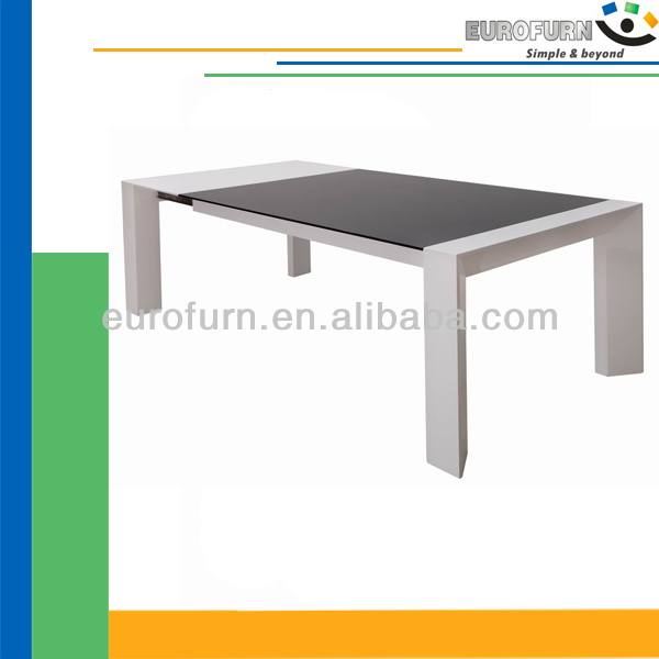 T-749 glass+high brillant table à manger Fabrication Les fabricants, fournisseurs, exportateurs, grossistes