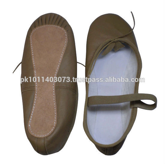Comfortable Fine Quality Leather Ballet Shoes Fabrication Les fabricants, fournisseurs, exportateurs, grossistes