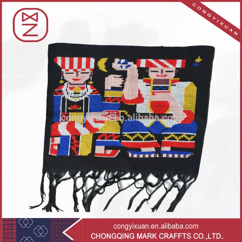 Chine Intangile patrimoine Tujia brocard ethnique Wall Art Decor Fabrication Les fabricants, fournisseurs, exportateurs, grossistes