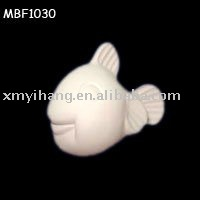 Toy fat fish design Unpainted Ceramic Bisque Fabrication Les fabricants, fournisseurs, exportateurs, grossistes