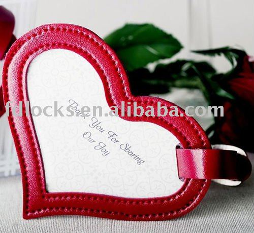Amour Forme Mini Mignon Bagages Tag Fabrication Les fabricants, fournisseurs, exportateurs, grossistes