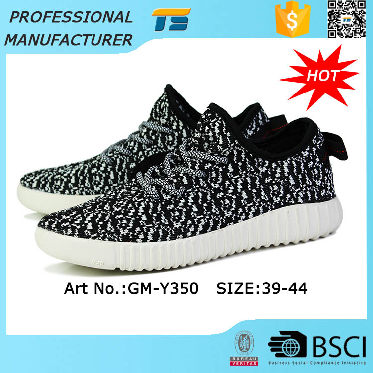Flexible Flyknit 350 Confort Homme Marque Sport Chaussures Fabrication Les fabricants, fournisseurs, exportateurs, grossistes