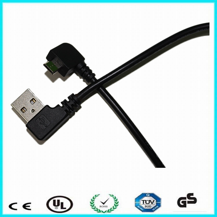 Chine OEM micro câble angle droit micro / câble usb Fabrication Les fabricants, fournisseurs, exportateurs, grossistes