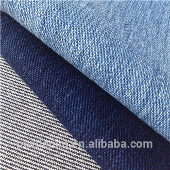 Mw chine gros indigo denim stretch tricot tissu Fabrication Les fabricants, fournisseurs, exportateurs, grossistes