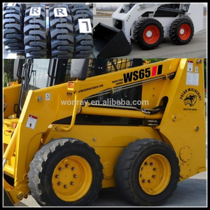 pas cher bobcat pi ces bobcat pneu 23x8 50 12 skid steer pneus chargeuse solides a. Black Bedroom Furniture Sets. Home Design Ideas