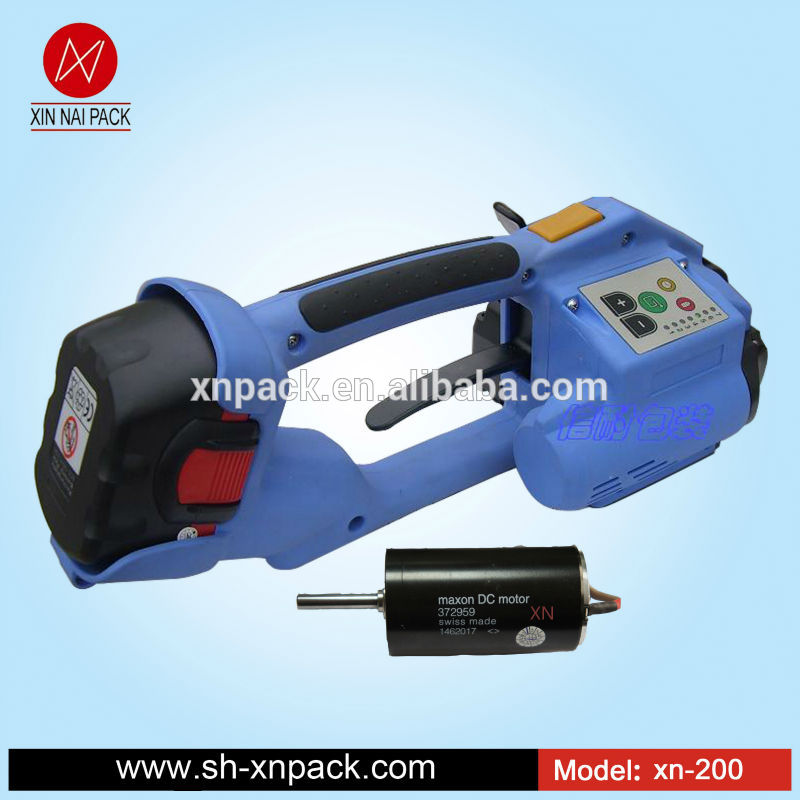 Xn-200 t portable machine de cerclage battery operated Fabrication Les fabricants, fournisseurs, exportateurs, grossistes