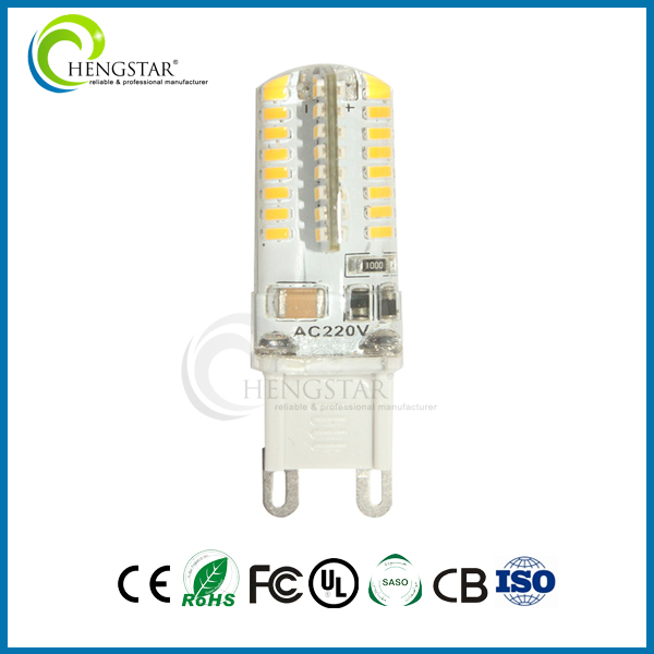 64smd 3014 silicone led g9 AC DC 12 V auto led g9 ampoule Fabrication Les fabricants, fournisseurs, exportateurs, grossistes