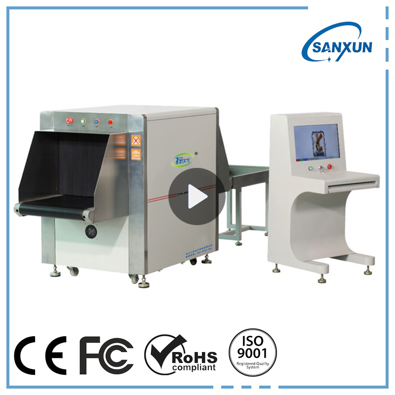 Mid-Taille X-ray Bagages Scanner Colis/Valise D'inspection Scanner Fabrication Les fabricants, fournisseurs, exportateurs, grossistes