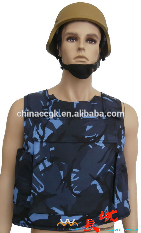 Complet de protection de collier Body armour / balistique vêtements en mer Camo Fabrication Les fabricants, fournisseurs, exportateurs, grossistes